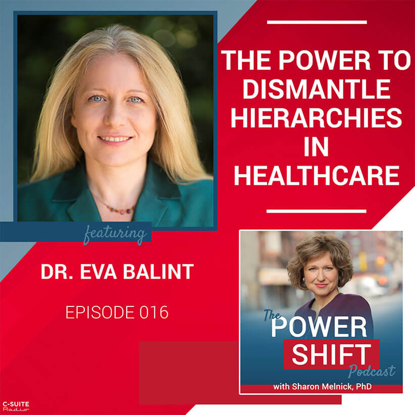 The Power Shift Podcast – The Power to Dismantle Hierarchies in Healthcare with Dr. Eva Balint